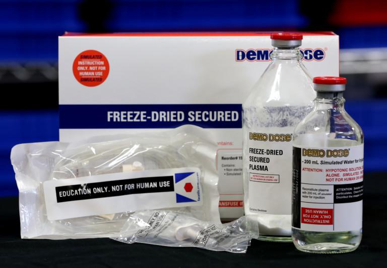 Freeze Dried Plasma